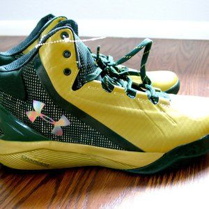Light Green Under Armour Men's Shoes Size 10 New